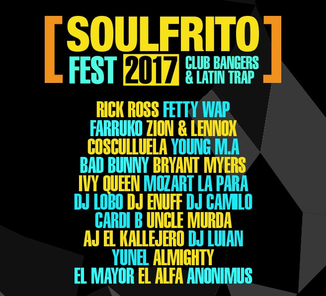 THE SOULFRITO URBAN LATIN MUSIC FESTIVAL TAKES OVER BARCLAYS CENTER