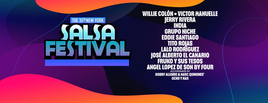 35th New York Salsa Festival | Barclays Center