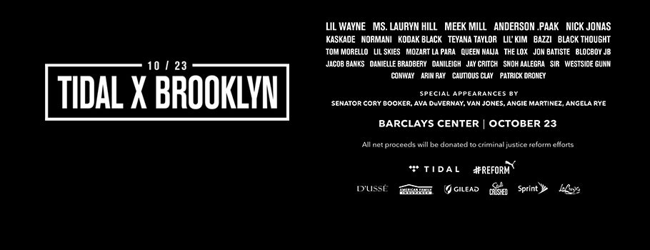 TIDAL X: BROOKLYN | Barclays Center