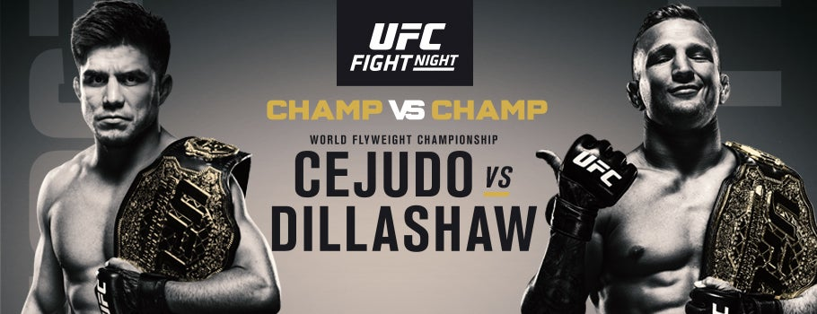 UFC on ESPN : Cejudo vs Dillashaw Live Stream