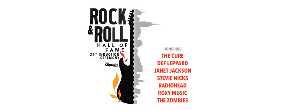 34th Annual Rock & Roll Hall of Fame Induction Ceremony