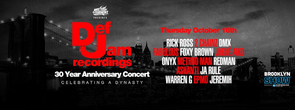 Def Jam Recordings 30th Anniversary Concert Barclays Center