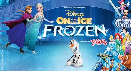 Disney On Ice Presents Frozen Barclays Center
