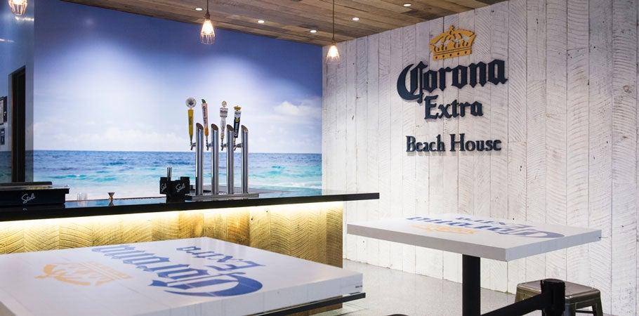 Corona Beach House Bar | Concessions and bars | Barclays Center