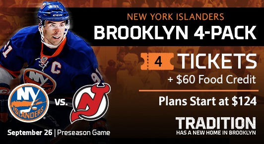 low priced 25bbe fb4f0 New York Islanders vs. New Jersey Devils | Barclays Center