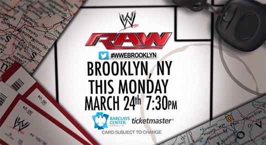 WWE Monday Night RAW   Barclays Center